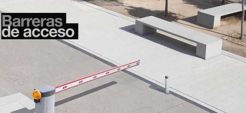 barreras de acceso