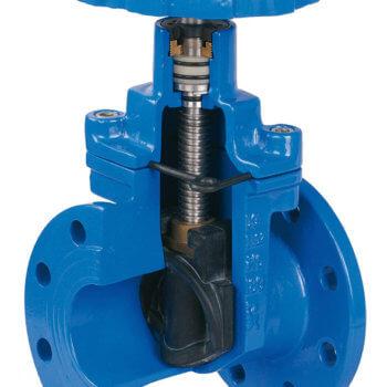 Qué es y cuándo se usa una válvula de compuerta